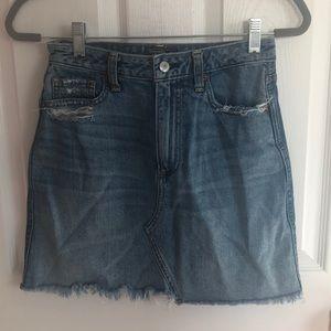 Denim Skirt Vintage A-Line